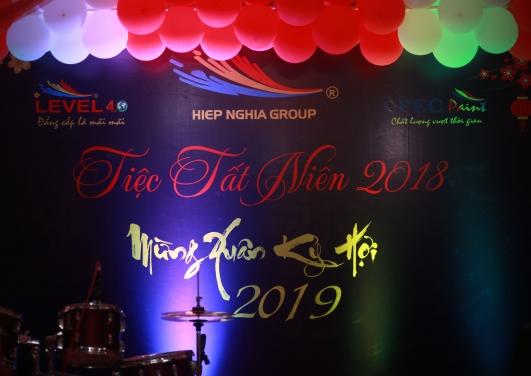 Tập đoàn Hiệp Nghĩa đánh dấu năm 2018 thành công - Tiệc tất niên 2018 chào xuân Kỷ Hợi 2019