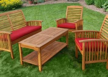 Cách bảo quản đồ gỗ ngoài trời